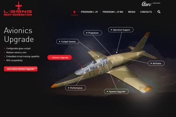 Vedení AERO Vodochody AEROSPACE představilo firmám celý projekt L-39NG
