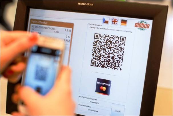 Mobilní aplikací InCard MasterPass lze nově zaplatit i v hypermarketu
