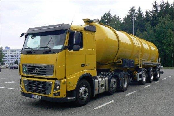 Návěs na tekuté odpady - NCR 36 - nerez /Foto: ZVVZ/