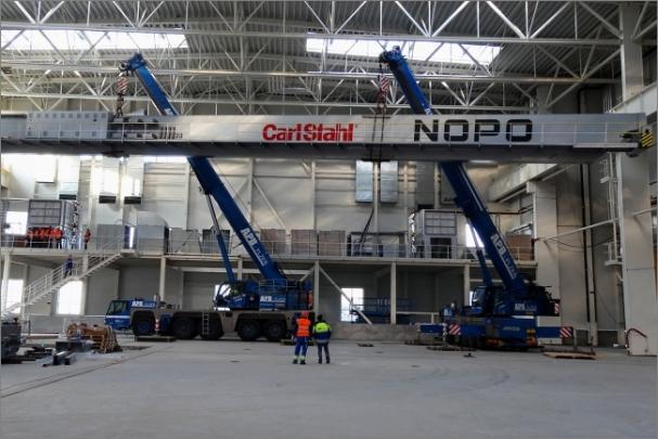 NOPO Engineering vybaví rekordně rozměrnými jeřáby novou lisovnu Škody Auto