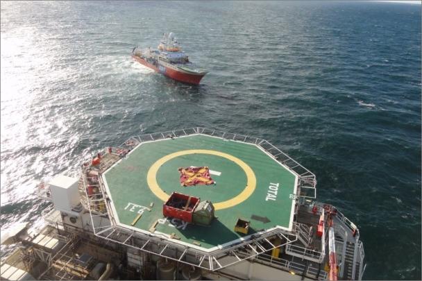 Sledovací systém ERA monitoruje lety vrtulníků zásobujících plošiny pro těžbu ropy u holandského pobřeží.
