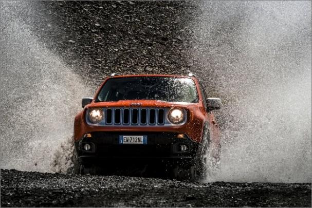 SKF přispívá k radosti z jízdy s vozem Jeep Renegade