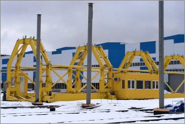 V ruské vagonce instaluje NOPO Engineering obří přesuvnu