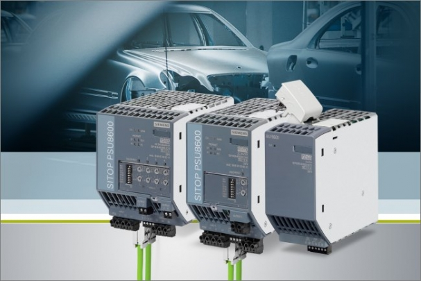 Siemens významně rozšířil funkce napájecího systému Sitop