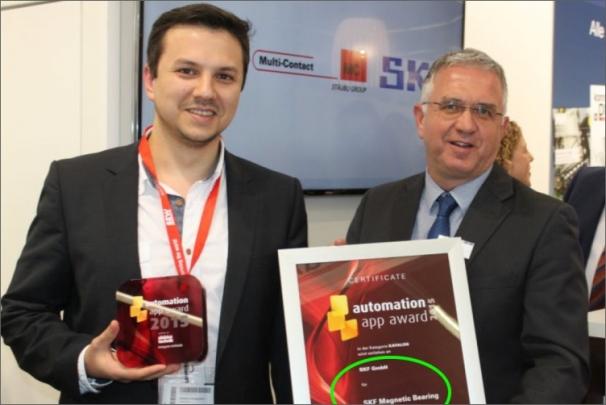 Aplikace SKF pro magnetická ložiska získala v Německu ocenění