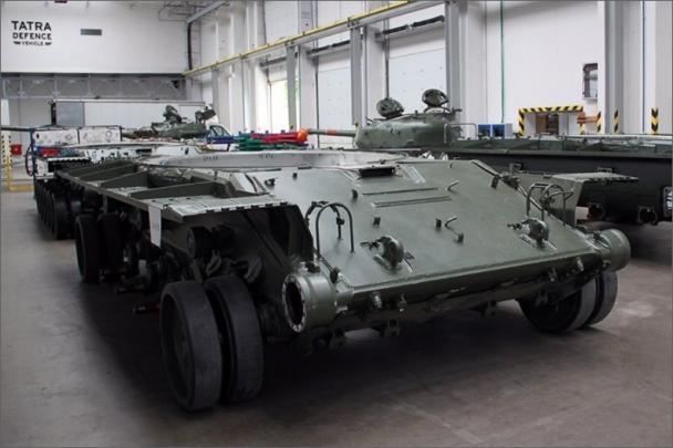 Otevřena TATRA Defence Vehicle