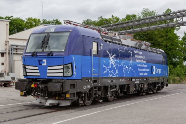 V první den veletrhu proběhne i slavnostní křest první nové lokomotivy Vectron, kterou Siemens dodal pro ČD Cargo.