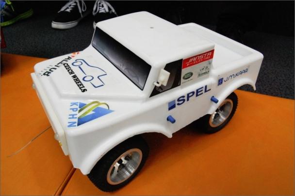 Vůz vítězného týmu Czech Wheels