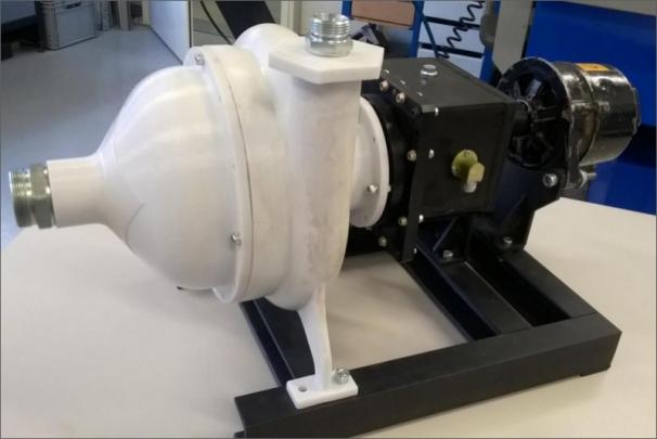 Turbogenerátor kogenerační jednotky ORC