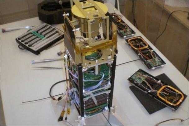 Česká technologická nanodružice VZLUSAT-1 bude snímat kosmickou radiaci