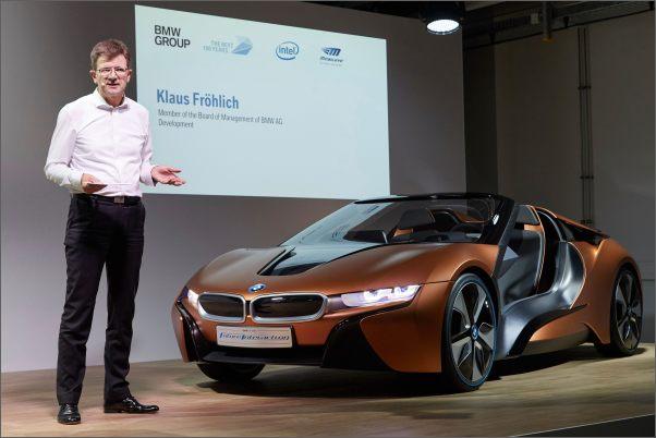 BMW, Intel a Mobileye spojily síly a slibují plně autonomní vozidla do 5 let