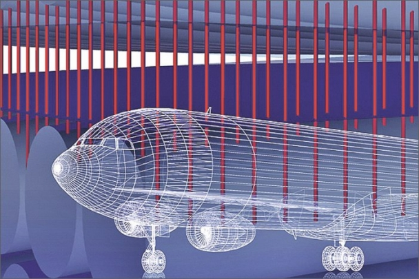 Letečtí inženýři vylepšili dopravní letadla uhlíkovými nanotrubičkami z jediné vrstvy atomů