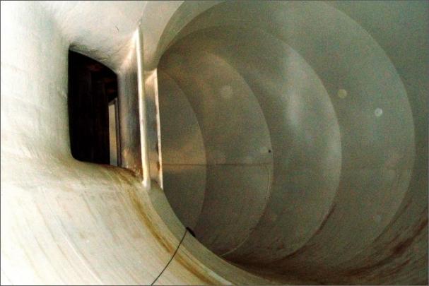 Přivaděč k turbíně má nový vnitřní nátěr