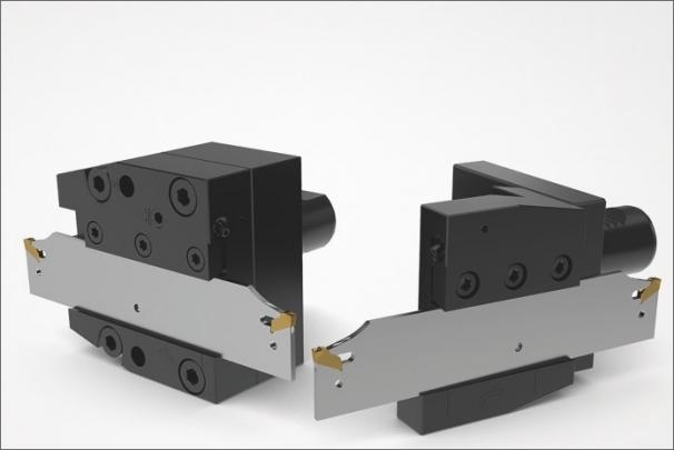 Společnost Seco rozšiřuje svůj systém vysoce účinných upichovacích planžet o držáky pro revolverové hlavy VDI
