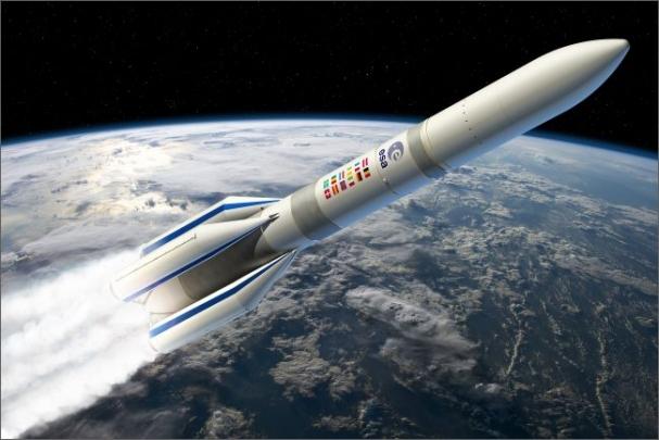Airbus Safran Launchers a Dassault Systèmes spolupracují na návrhu a vývoji rakety Ariane 6