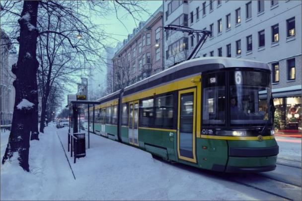 V současnosti je v Helsinkách v provozu čtrnáct tramvají ForCity Smart Artic