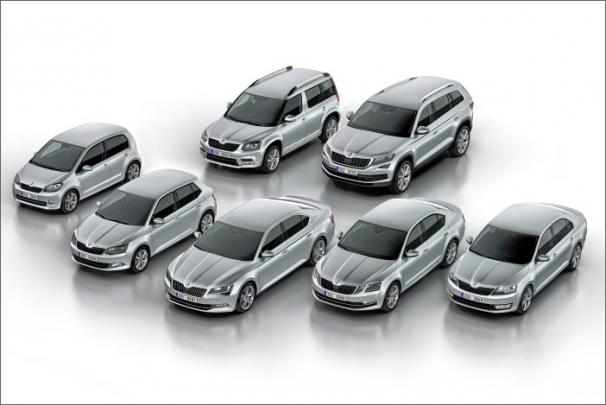 Rekordní rok 2016: ŠKODA dodala svým zákazníkům 1 127 700 vozů