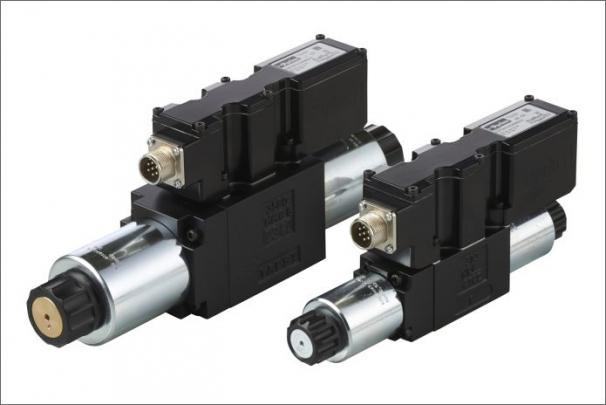Přímo ovládané proporcionální DC ventily série D1FC/D3FC jsou nyní k dispozici také v provedení pro řízení v uzavřené regulační smyčce