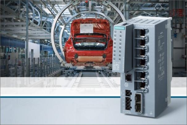 Nová produktová řada switchů Scalance XC-200 v kompaktním provedení