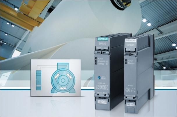 Nová řada termistorových relé Sirius 3RN2 spolehlivě chrání motory před nadměrným oteplením