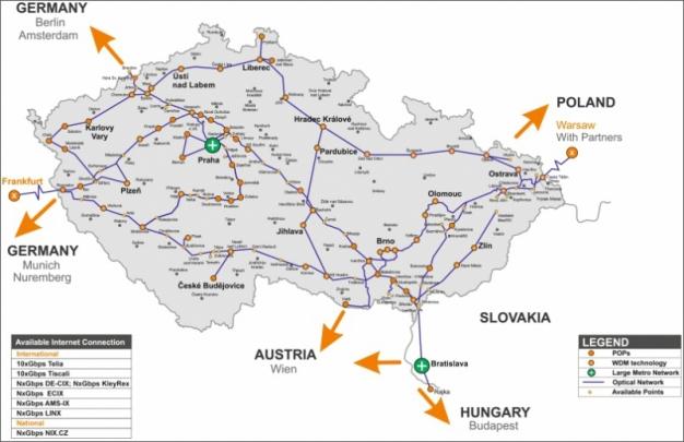 Dial Telecom úspěšně provedl celoplošný upgrade páteřní sítě v České republice