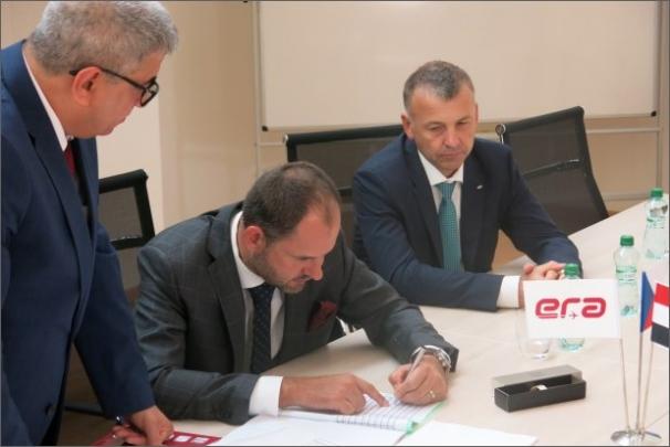 ERA podepsala smlouvu s vedením iráckého mezinárodního letiště Najaf
