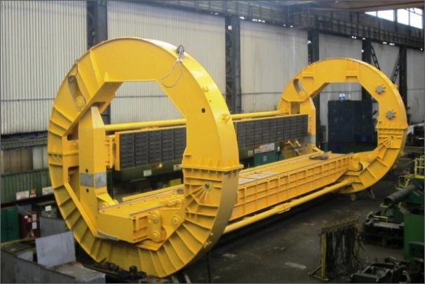Rotorové výklopníky se budou v elektrárně starat o vyklápění vagónů s uhlím