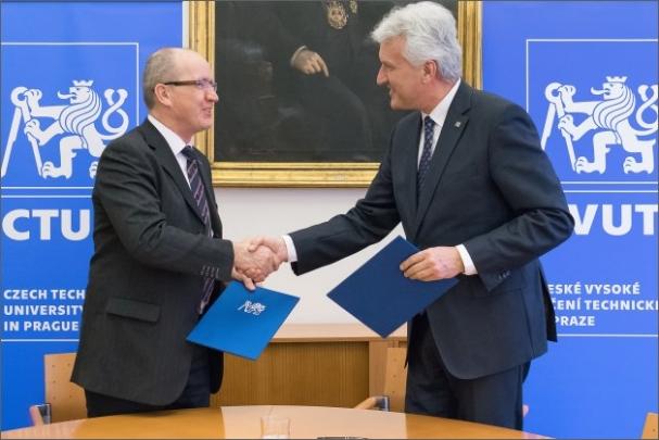 ČVUT v Praze a společnost FOXCONN spolupracují při zadávání témat diplomových a bakalářských prací