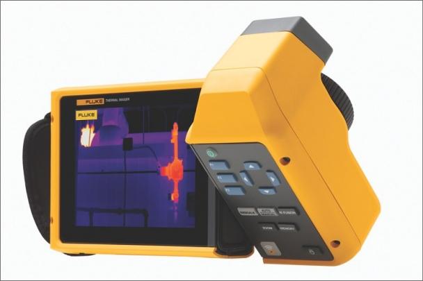 Společnost Fluke Corp. představuje termokamery Fluke Ti480 a TiX580