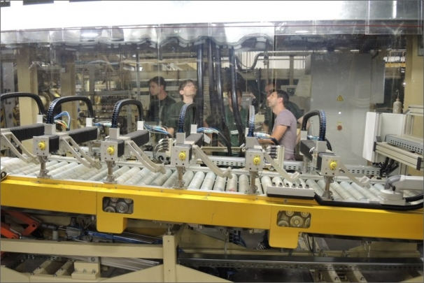Ovládací středisko výrobní linky PENTAPLEX
