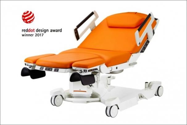 Nejprestižnější cenu za design získalo lůžko od BORCAD Medical