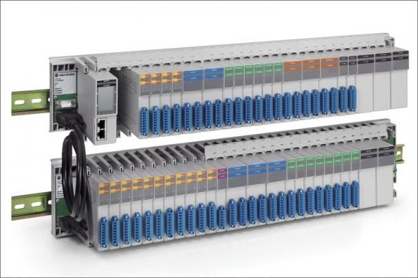 Sběrnicová I/O platforma řady 1719 Ex od společnosti Rockwell Automation umožňuje jiskrově bezpečné připojení provozních zařízení v podniku