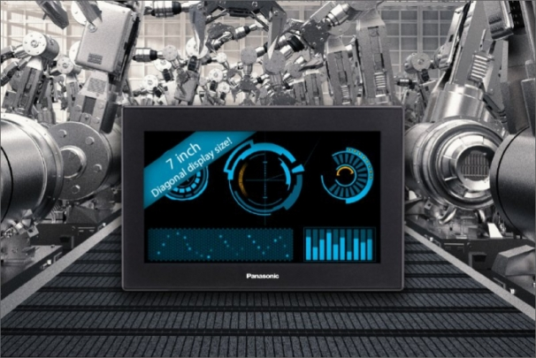 Panasonic: Nový dotykový panel s širokoúhlým displejem - GT707
