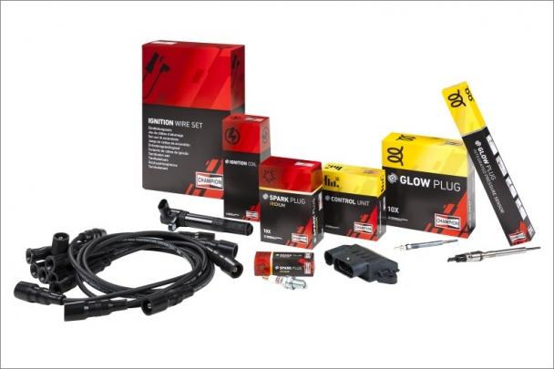 Výrobní řada cívek doplňuje nabídku značky Champion pro zapalování, přináší plné pokrytí pro vznětové i zážehové motory