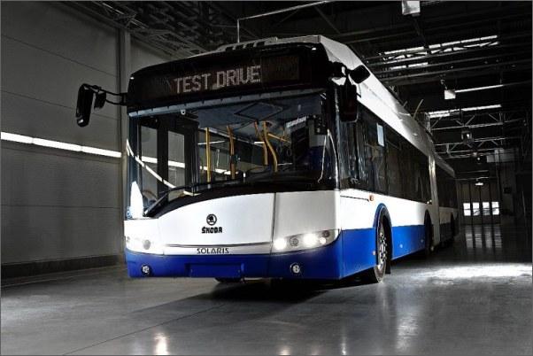 Škoda Electric dodá 50 trolejbusů do lotyšské Rigy