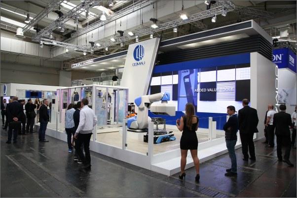 Robotická řešení společnosti Comau dle Průmyslu 4.0 naleznete v Hale 17, na stánku C04