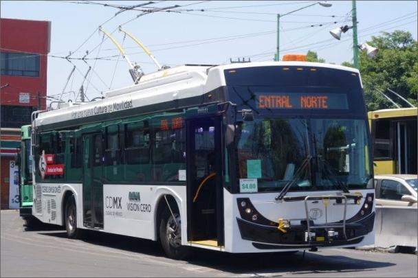 Trolejbus by měl na zkouškách jezdit v mexickém hlavním městě v průběhu letošního roku