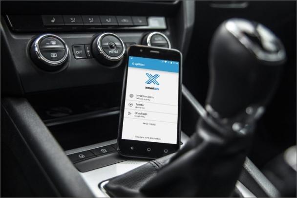 Jednotka Xmarton nabízí dálkové ovládání elektrických prvků automobilu