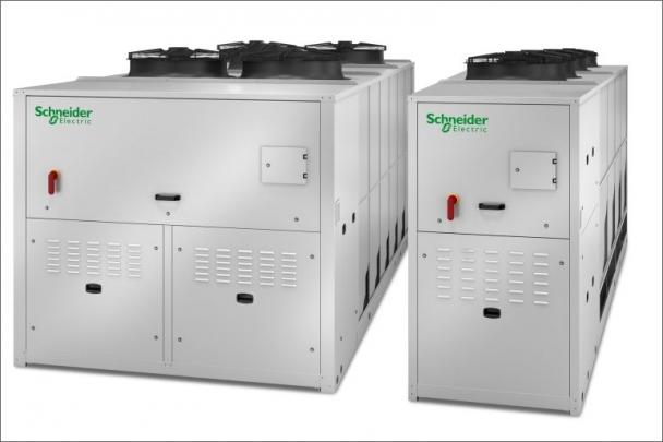 Aquaflair TRA/TSA od Schneider Electric: tiché řešení s vysokým výkonem pro chlazení datových center