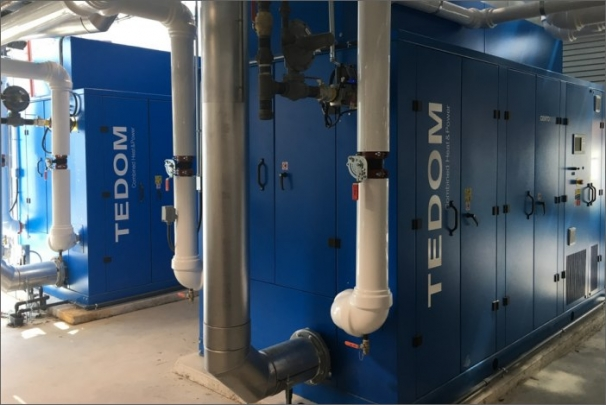Zprovoznění dvou kogeneračních jednotek TEDOM v Kanadě