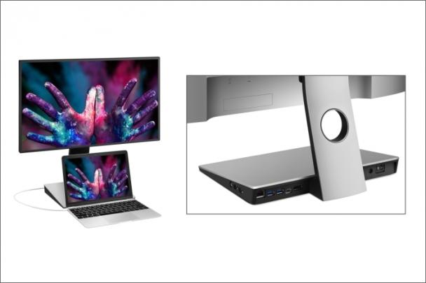 BenQ odhaluje monitor pro designery PD2710QC s USB C a vlastní dokovací stanicí