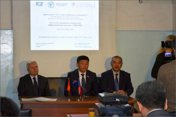 ICZ slaví úspěch s elektronickým zdravotnictvím v Kyrgyzstánu a nastiňuje směr zdejší koncepce e-Health