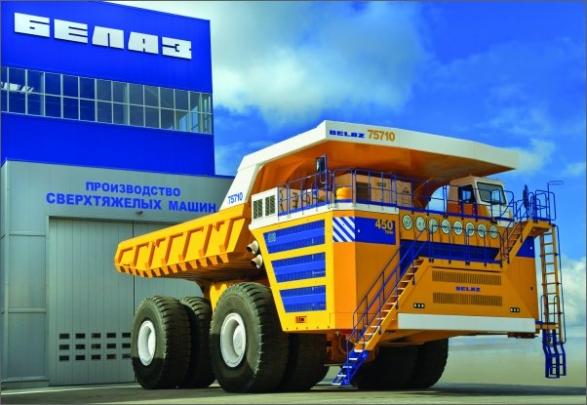 O důlní vozidla s nosností 90 tun je vedle Ruska zájem v mnoha zemích světa, například v jižní Americe, Africe a Austrálii.