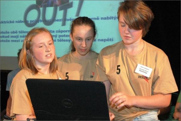 Celostátní energetická soutěž motivuje mládež