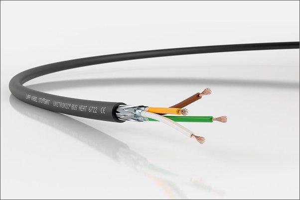 Nový sběrnicový kabel UNITRONIC® BUS HEAT 6722 pro užitková vozidla