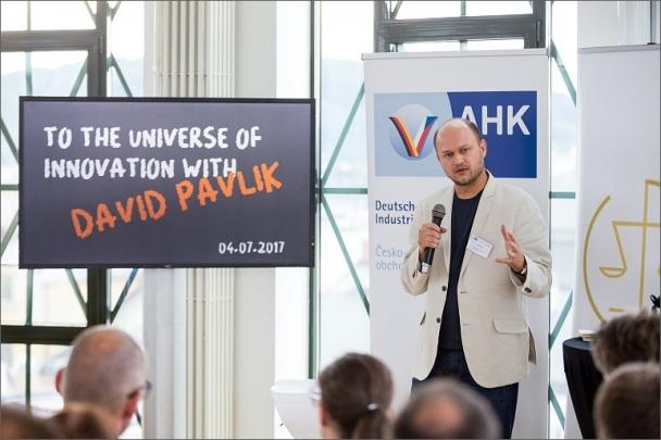 Do kosmu inovací s Davidem Pavlíkem