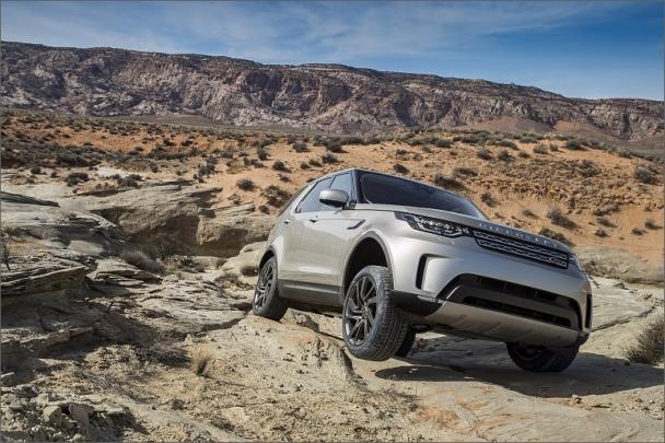 Goodyear dodává automobilce Jaguar Land Rover originální výbavu pro nové modely Jaguar F-PACE, Land Rover Discovery a Range Rover Velar