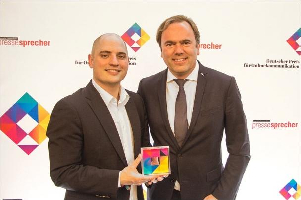 Společnost STILL získala cenu za on-line komunikaci