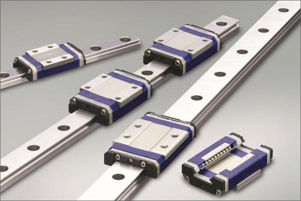 Miniaturní lineární vedení PU od firmy NSK byla vyvinuta pro náročné aplikace, např. v zařízeních pro výrobu polovodičových součástek