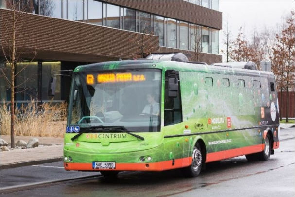 Energii pro nabití plné kapacity baterií jednoho elektrobusu dokázala loni Jaderná elektrárna Temelín vyrobit za necelou půlvteřinu